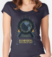 Illuminations - Reflections of Earth Women's Fitted Scoop T-Shirt