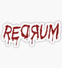 REDRUM Sticker