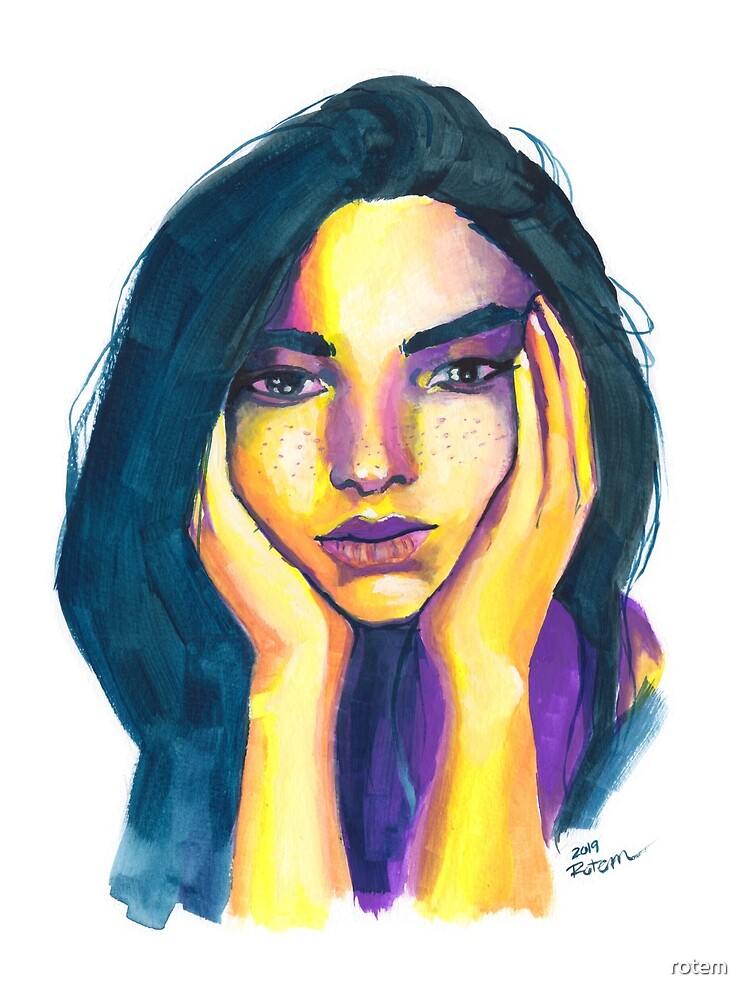 Expressive Color Study by rotem