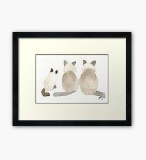 Ginger, Rosie and Simon Framed Print