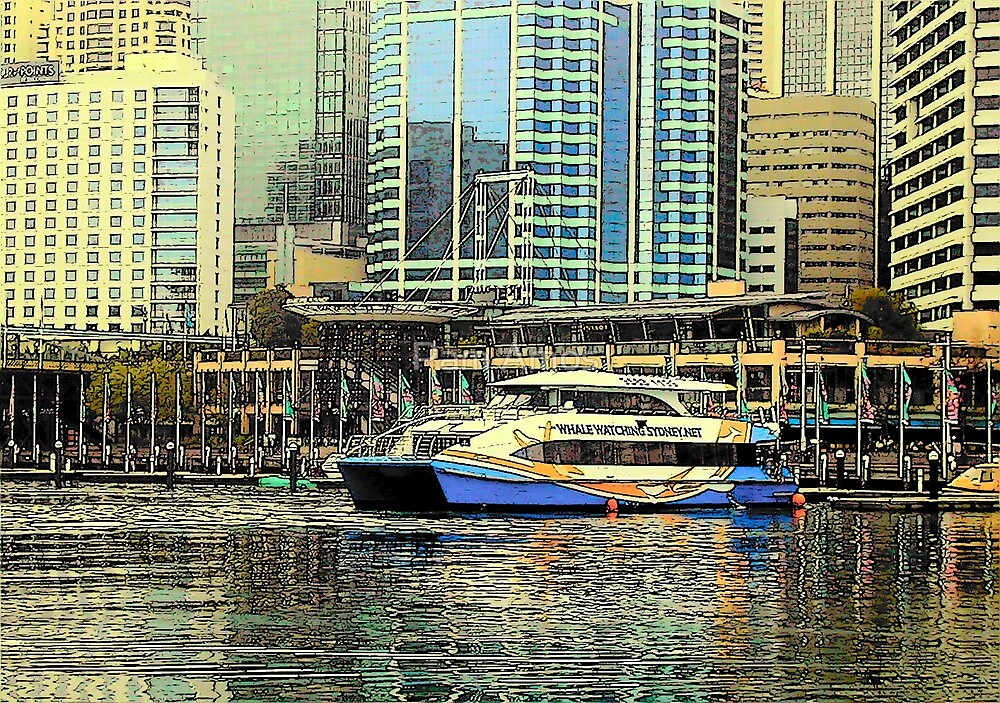 Darling Harbour by Pam Amos