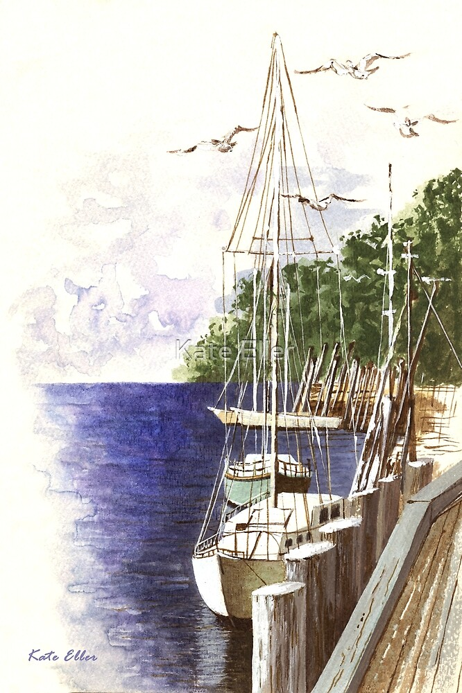Docked for the Day by Kate Eller