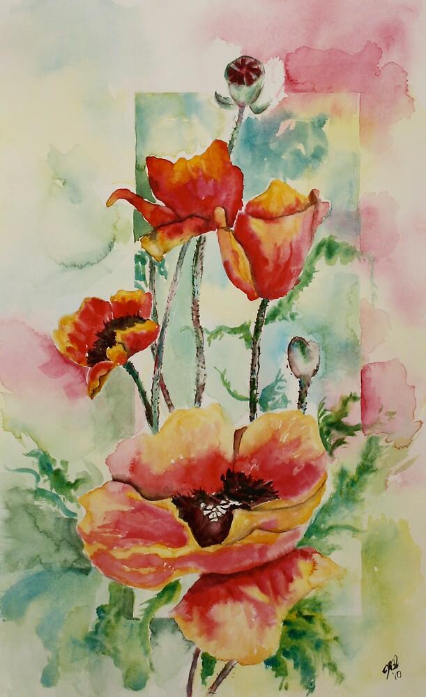 Poppies by Joyce Sousa