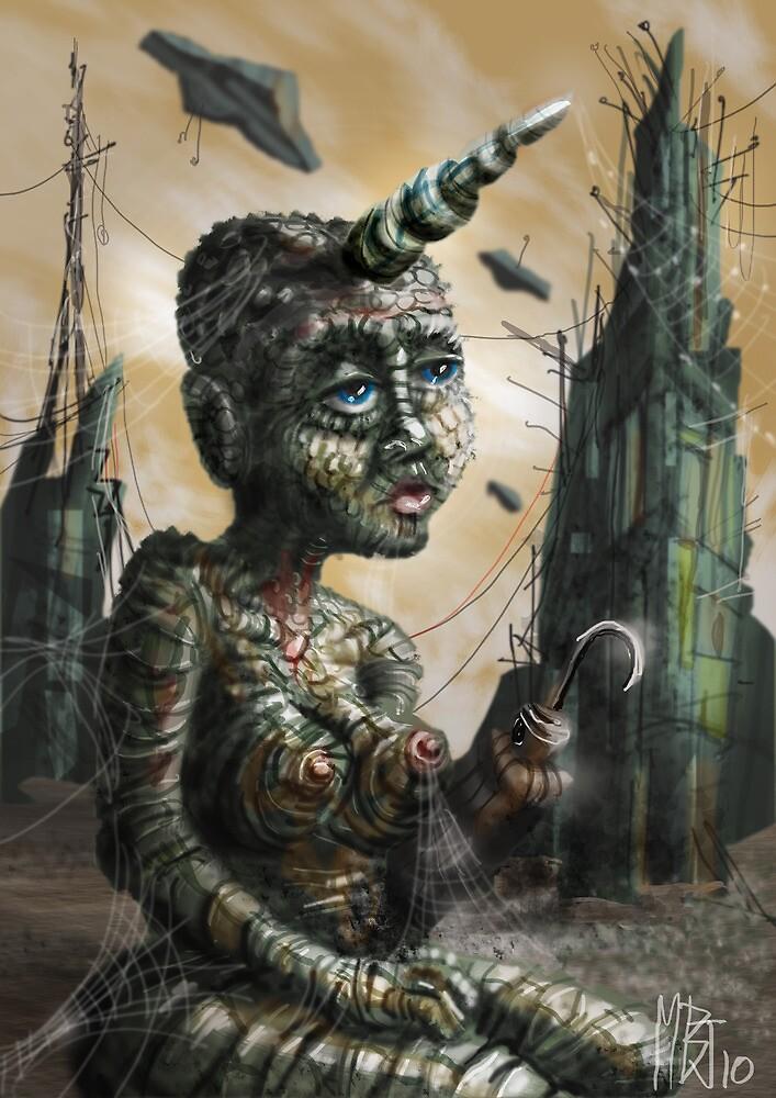Lizard Girl by Matt Bissett-Johnson