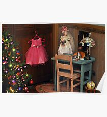 The Little Room at Christmas Poster