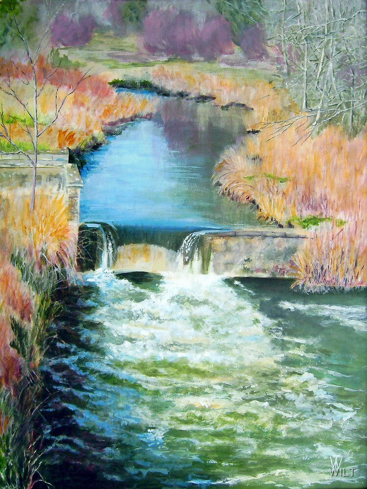 Middle Mill Weir by WILT