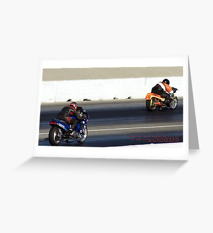 Speed Machines; Fomoso Raceway; McFarland, CA USA; Summit Series Racing; Lei Hedger Photography All Rights Reserved Greeting Card