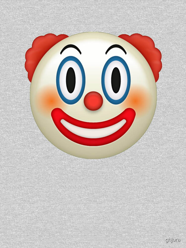 Emoji clown by ghjura