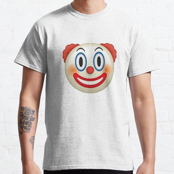 Emoji clown T-shirt classique