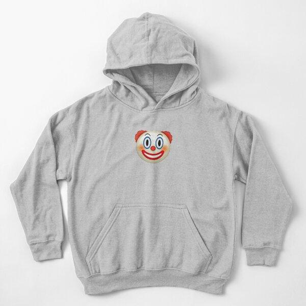 Emoji clown Kids Pullover Hoodie