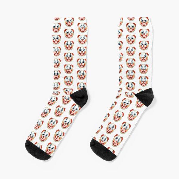 Emoji clown Socks