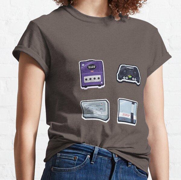 Retro Nintendo Consoles Classic T-Shirt