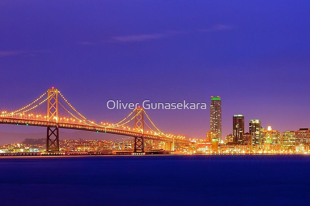 Bay Bridge San Francisco by Oliver Gunasekara