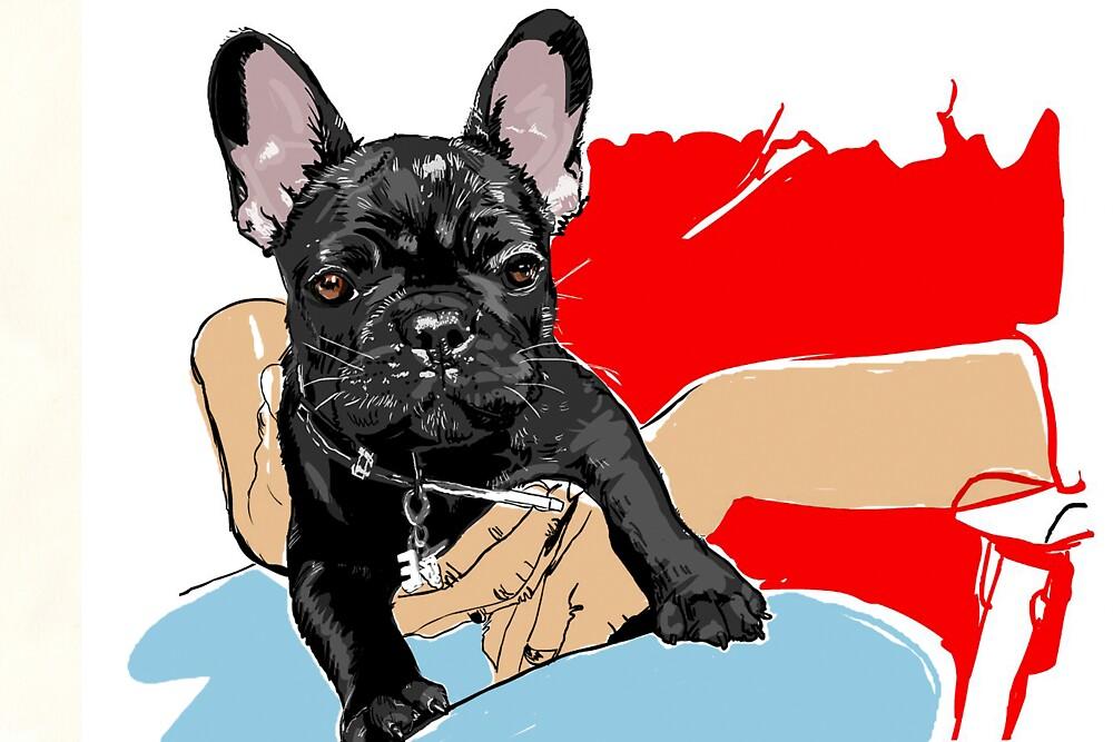 Miss E. Piggy.. as a pup#1 by WoolleyWorld