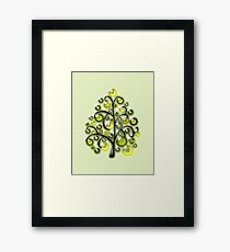Green Glass Ornaments Framed Print