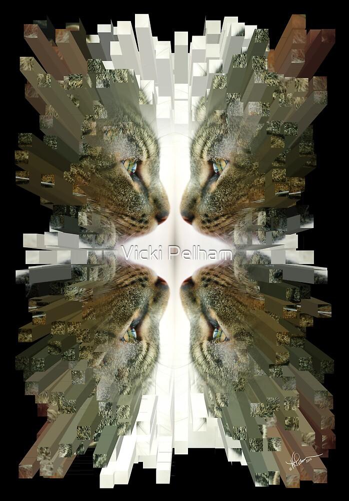 To Pieces ~ Upsidedown and Turned Around by Vicki Pelham