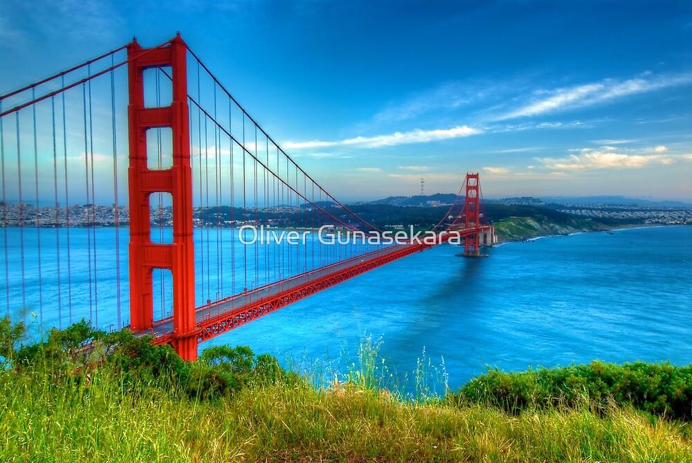 Golden Gate Bridge by Oliver Gunasekara