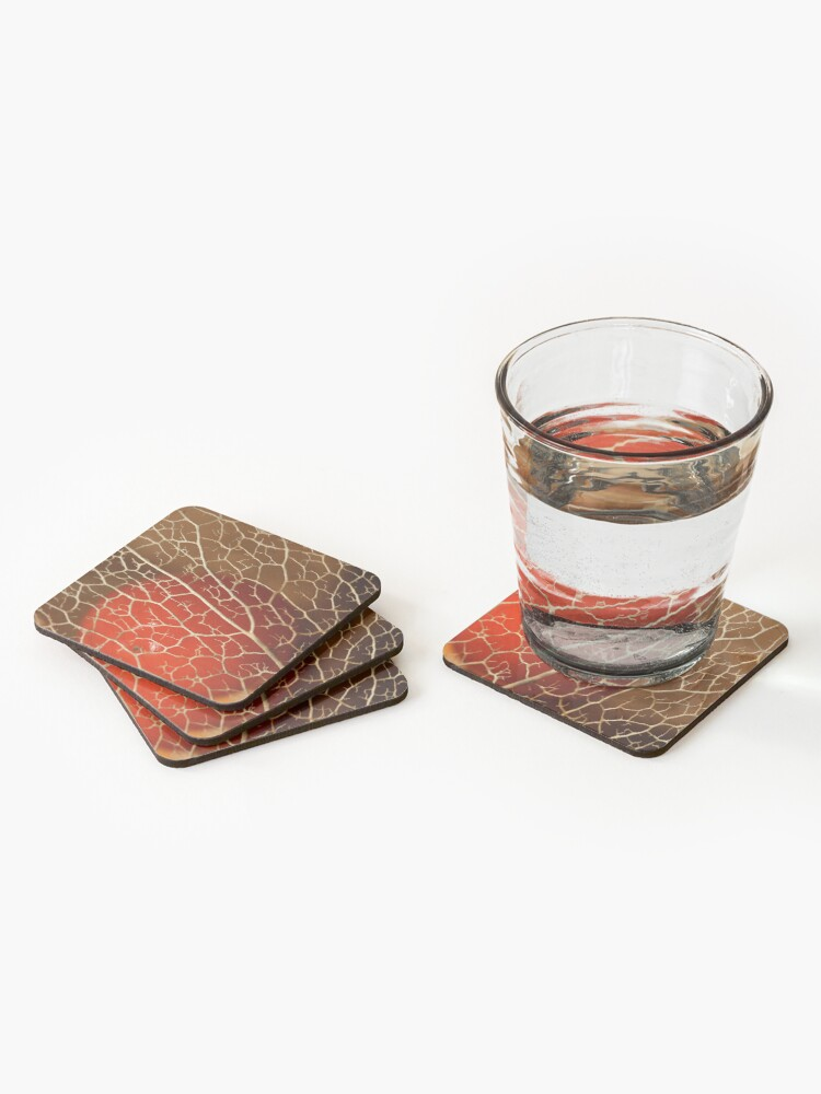 Alternate view of so close to the heart Coasters (Set of 4)