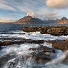 Elgol and Loch Scavaig. Swirling Waves. Isle of Skye. Scotland. by Barbara  Jones ~ PhotosEcosse