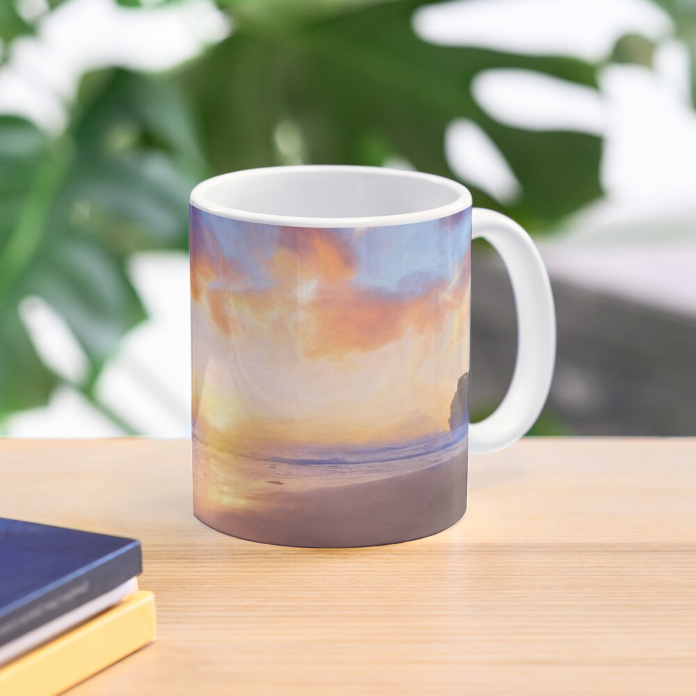 12 Apostles with Marshmallow Skies  (digital painting) Mug
