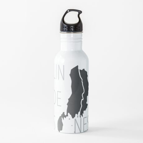 Lindesnes - Maps on Mugs Water Bottle