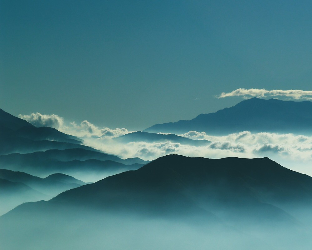 Ridges and Haze by brian watkins