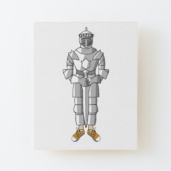 Sir Rebellious Wood Mounted Print