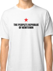 People's Republic of Newtown (Black) Classic T-Shirt