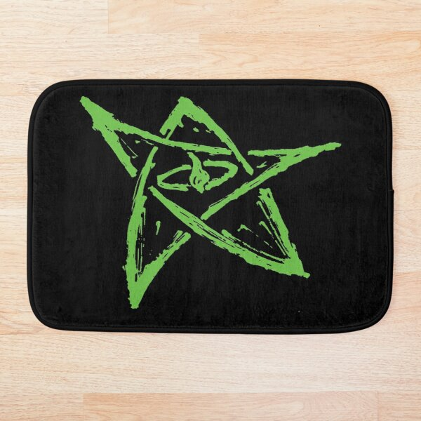 Call of Cthulhu, Elder Sign - Green Bath Mat