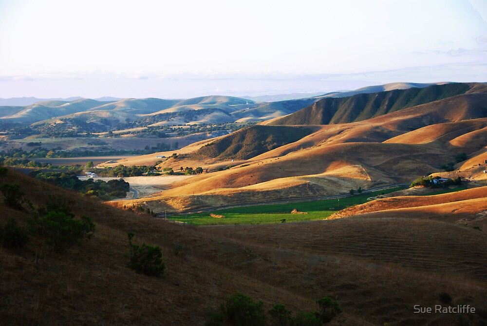 Lompoc, California by Sue Ratcliffe