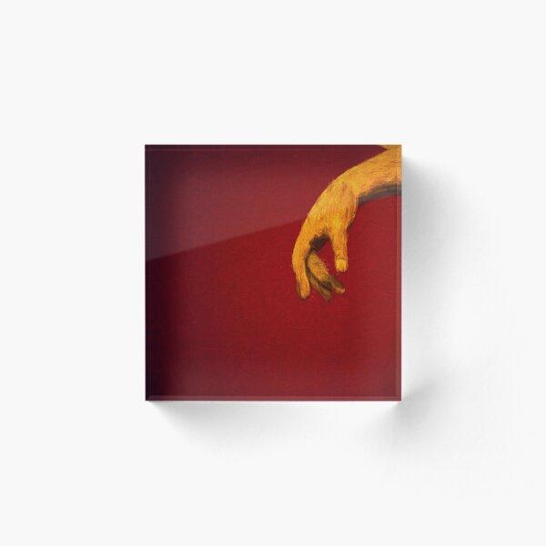 The Hand           (digital painting) Acrylic Block