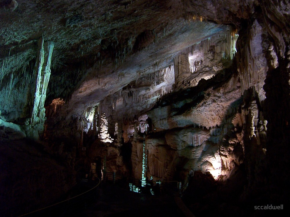 The Jeita Grotto, Lebanon by sccaldwell