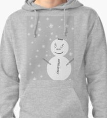Snowman-Merry christmas& Happy New Year Pullover Hoodie