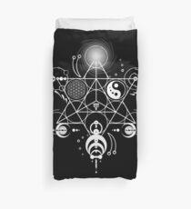 Sacred Crops -White Duvet Cover