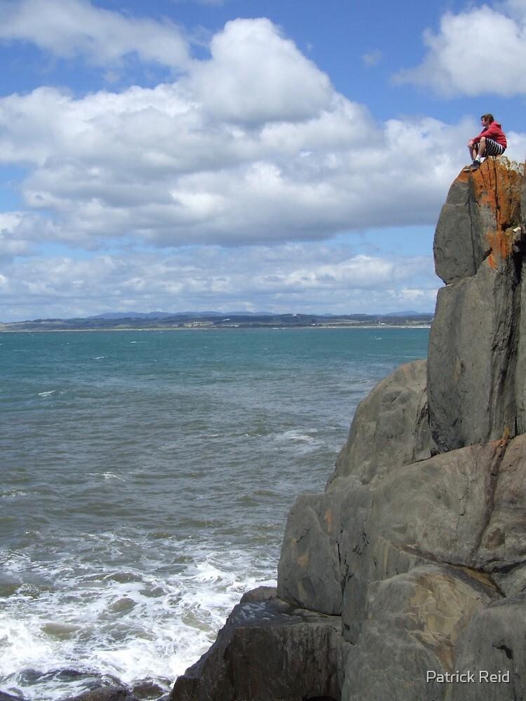 Livin life on the edge by Patrick Reid