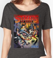 streets of rage 90s Women's Relaxed Fit T-Shirt
