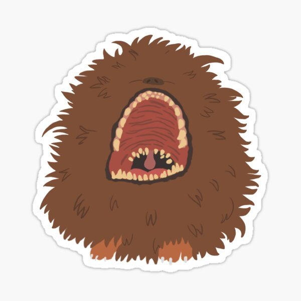 Fizzgig scream Sticker