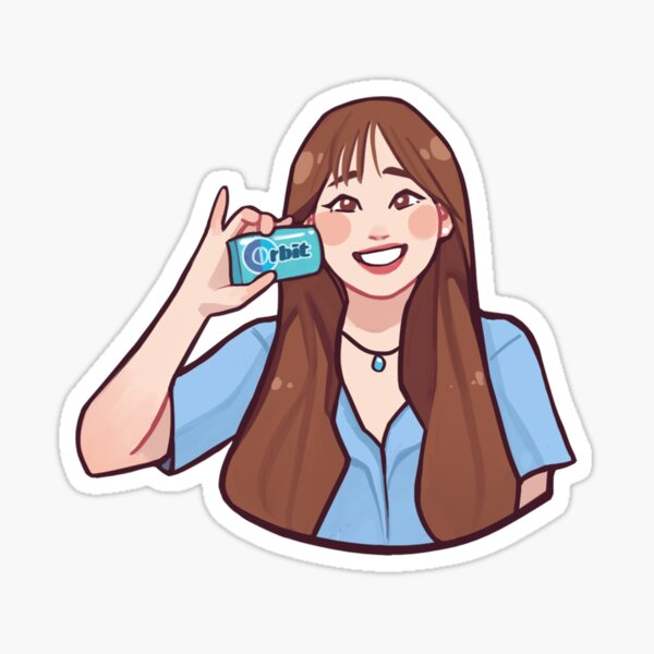 Chuu Orbit Sticker