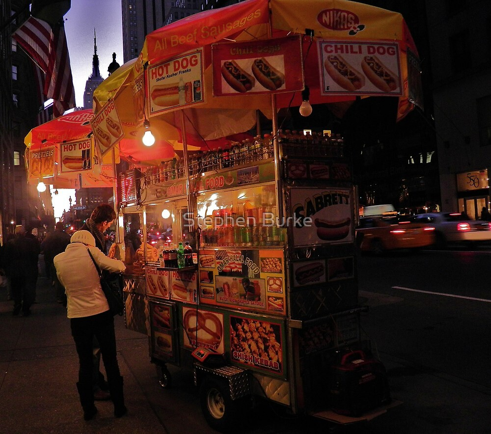 Hot Dog Stand by Stephen Burke