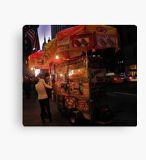 Hot Dog Stand Canvas Print