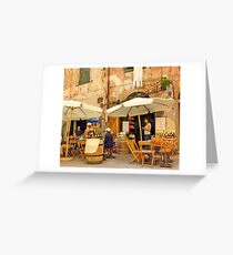 Street Life Greeting Card