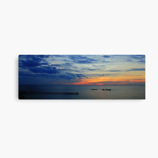 Evening Twilight - Half Moon Bay Canvas Print