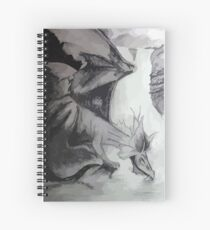 Dragon by the Lake Spiral Notebook