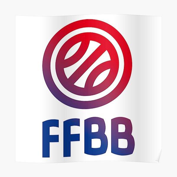 Logo de de basket France Poster