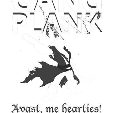 Gangplank - Avast, me hearties! by Fenrirsbane