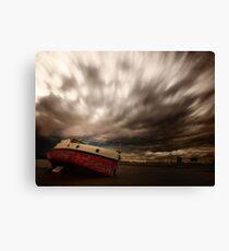 Windy Skies Canvas Print