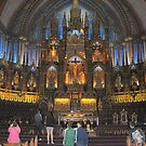 Basilica de Notre Dame, Montreal, PQ, Canada by Bertspix1