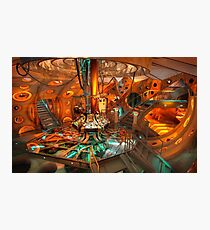 Dr. Who Tardis Photographic Print