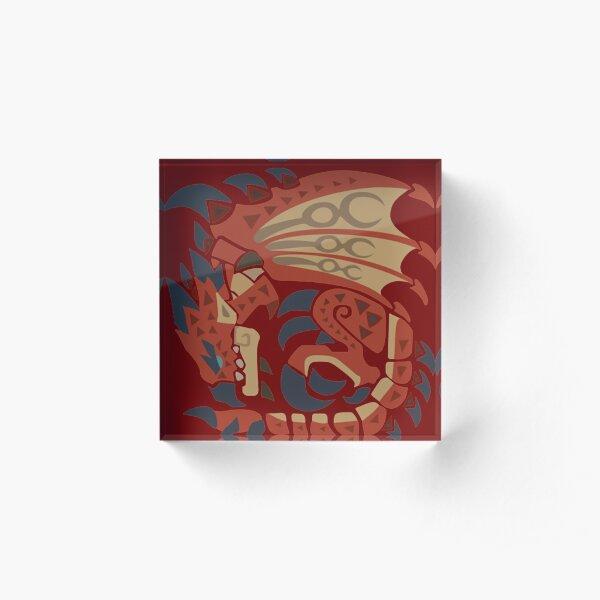Rathalos Acrylic Block