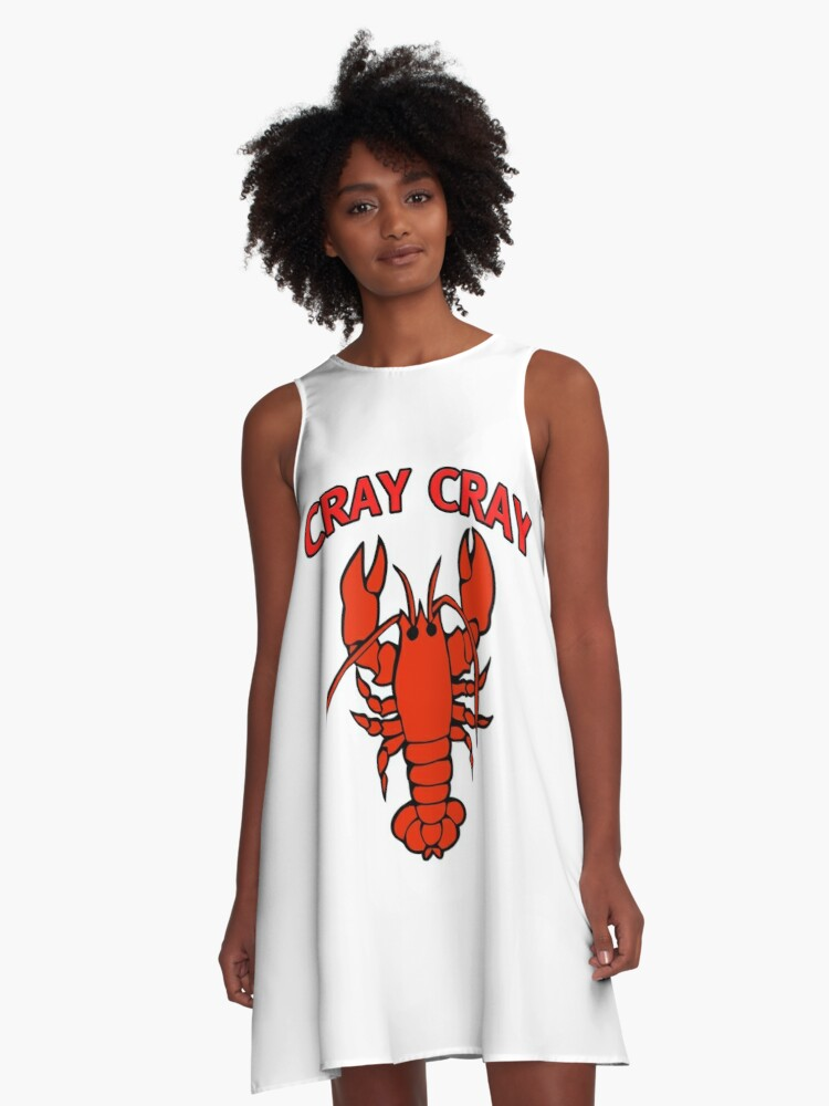 White Krezy Case Funny Be my Lobster Tank Top